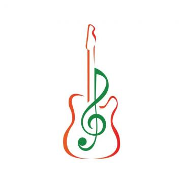 banner transparent stock Vector band gambar. Music logo png psd