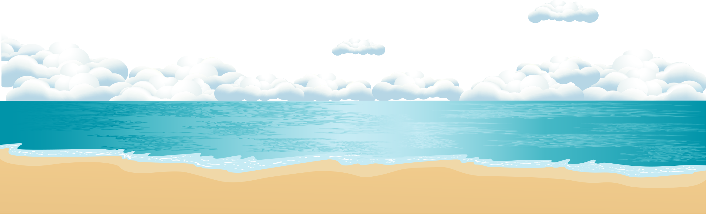 png transparent Collection of free flat. Vector ocean wallpaper.
