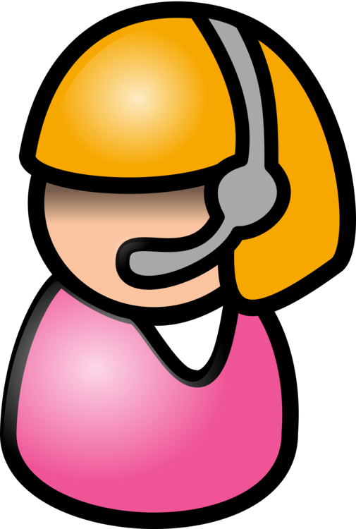 svg royalty free stock Telephone call switchboard microphone. Vector operator cartoon
