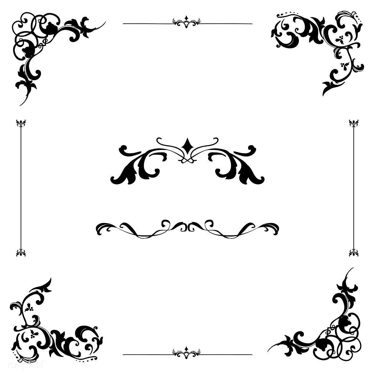 graphic freeuse download Vector ornament. Download premium illustration of
