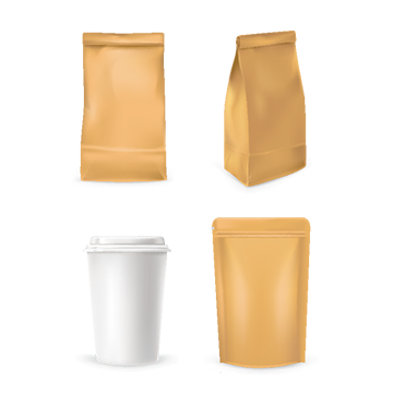 svg black and white Paper Bag Png