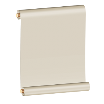 graphic stock Billboard vector light box. Paper scroll png vectors