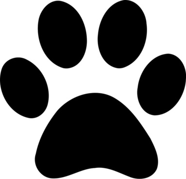 image royalty free download Free download for . Vector paw