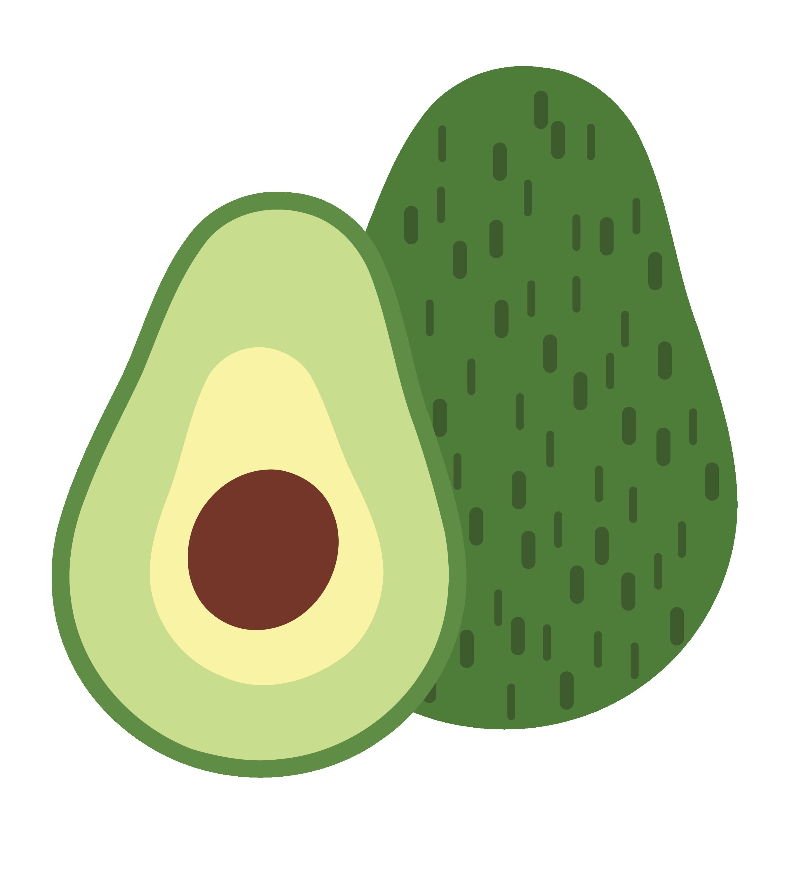 png freeuse download Avocado Printmaking Fruit Illustration