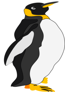 clip art royalty free download Clip art at clker. Vector penguin king