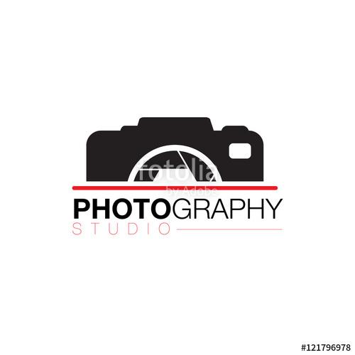 clip transparent Vector photography. Camera lens photographer logo