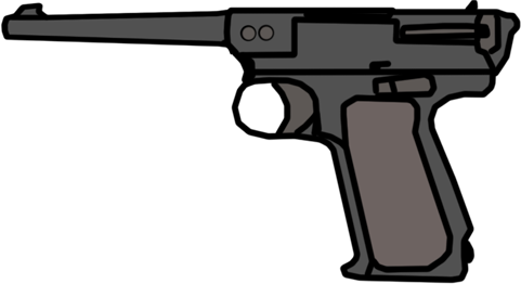 clip art free library Walfas weapons pv voevodin. Vector pistols