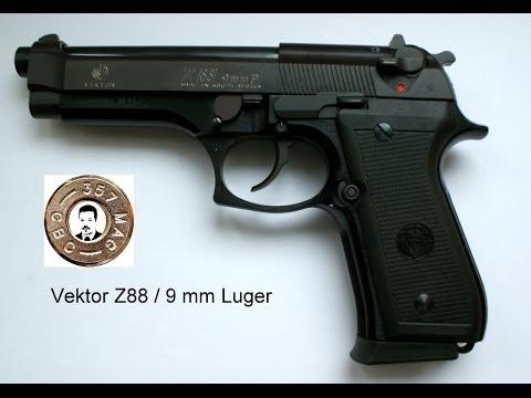picture library download Vector pistols cz88. Pistole vektor z zerlegen