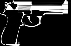 clip art library download Generic Pistol Clip Art at Clker