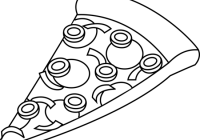 transparent stock pizza clipart black and white pizza doodle clipart vector search