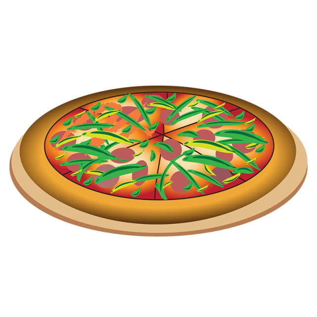 picture freeuse stock Realistic Pizza Vector PNG