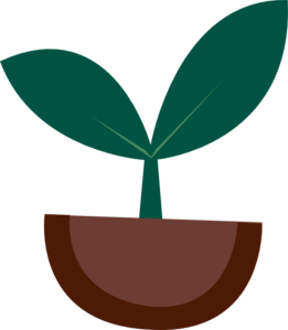picture library Vector plant. Sprout clip art at