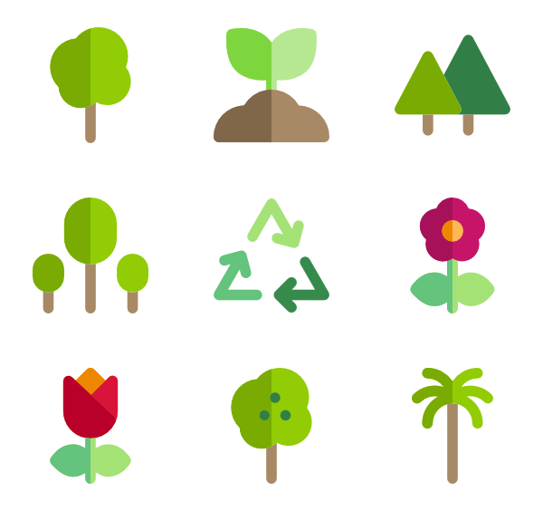 graphic freeuse library Plant Icons