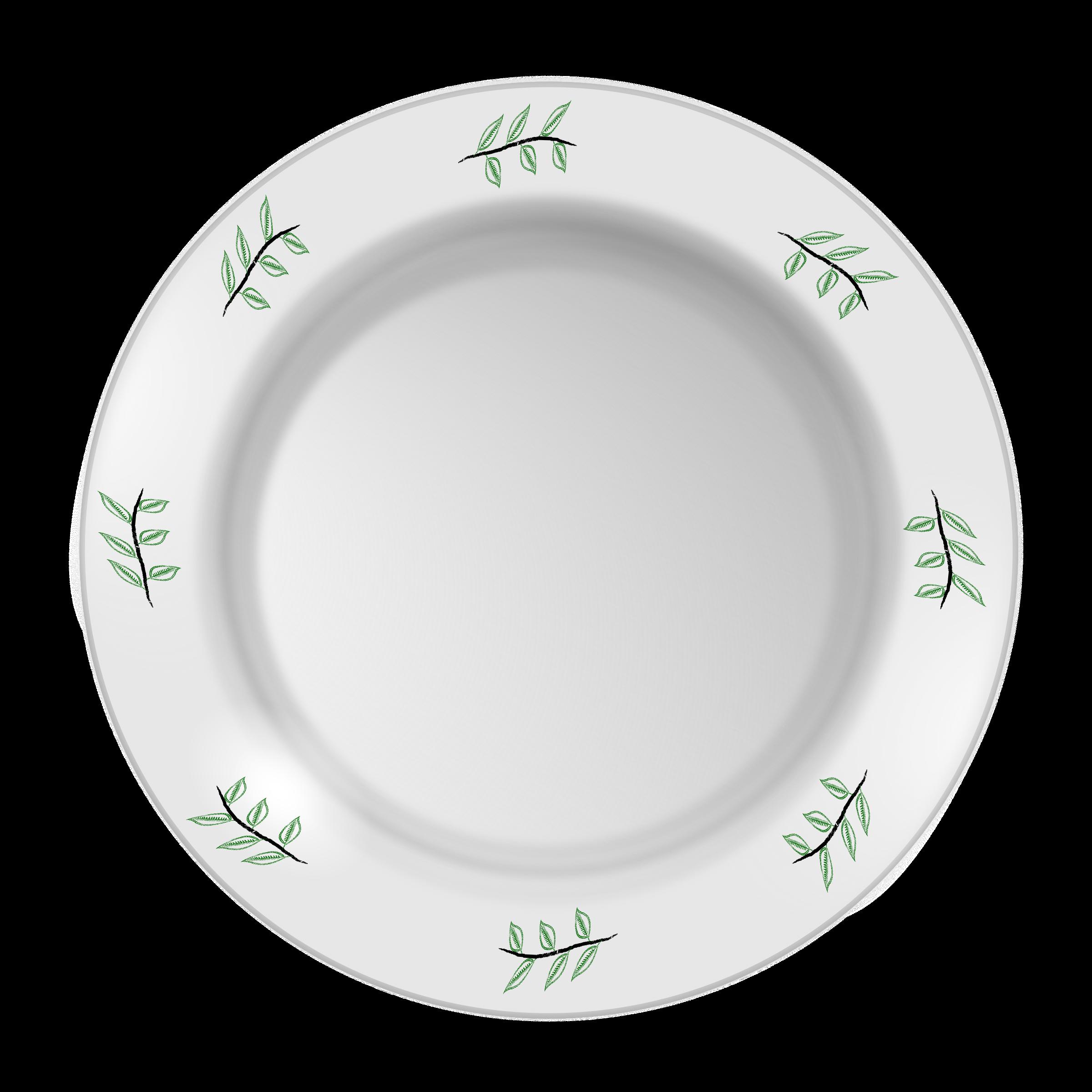 graphic free stock vector plates ceramic #118356495