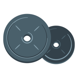 banner free Weight plate icon