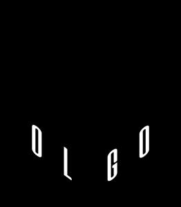 clip black and white stock Logo ai free download. Vector polygon.