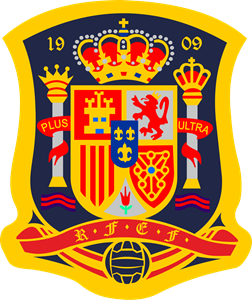 image transparent library Spain national football team. Vector crest badge