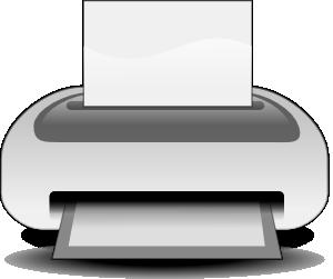 clip royalty free download Etiquette Printer Clip Art at Clker