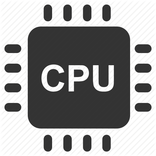 clipart black and white stock Computer Cpu PNG Black And White Transparent Computer Cpu Black And