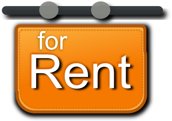 banner free library For Rent Sign Clip Art at Clker