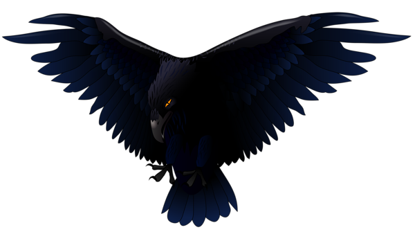 jpg black and white download Vector raven. Scary png clipart halloween