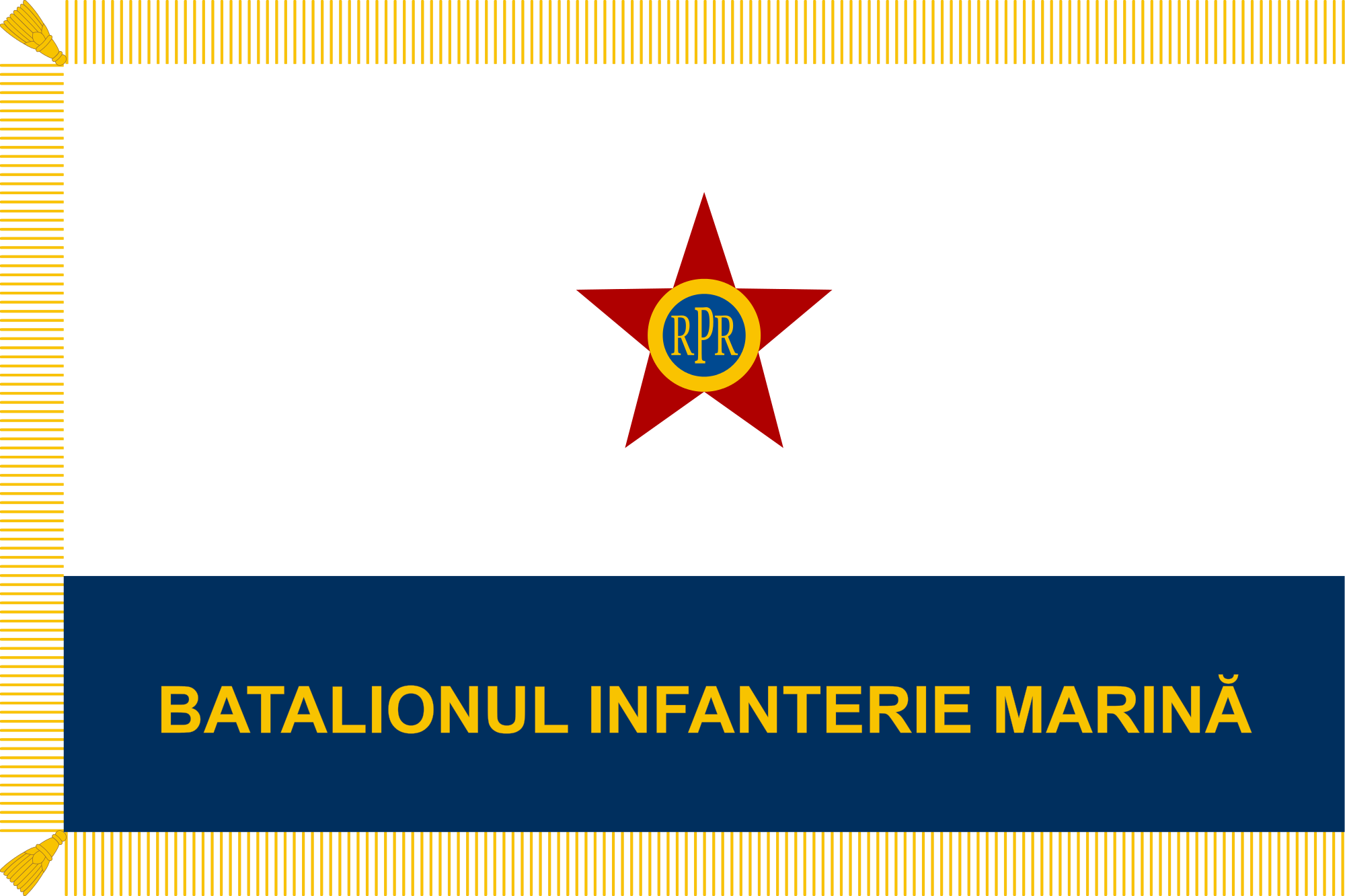 library File of naval force. Vector reverse flag