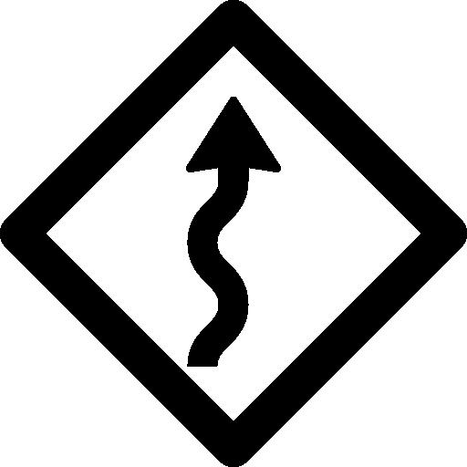 clip library download vector road curvy #108350958