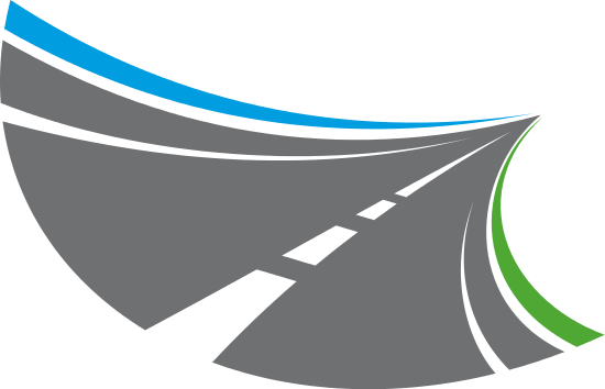 free stock Stylized Tarred Road with Markings