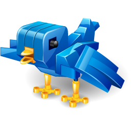 svg royalty free download Twitter robot bird Icon