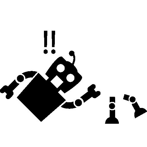 freeuse Broken Robot