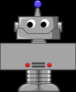 jpg freeuse Cartoon Robot Clip Art at Clker