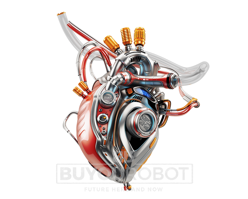 banner free stock vector robot heart #108364293