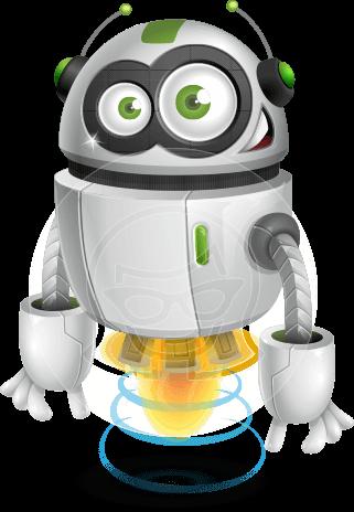 jpg free stock Robot Vector Cartoon Characters