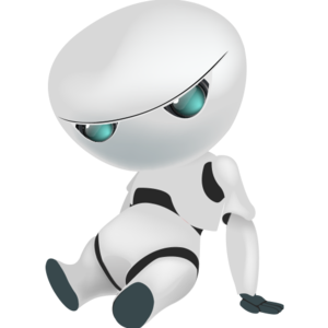 picture royalty free Sad Robot