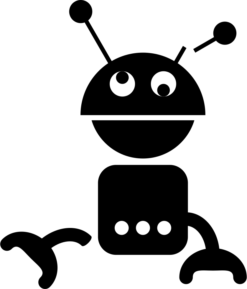 royalty free download Dizzy Robot Silhouette Svg Png Icon Free Download