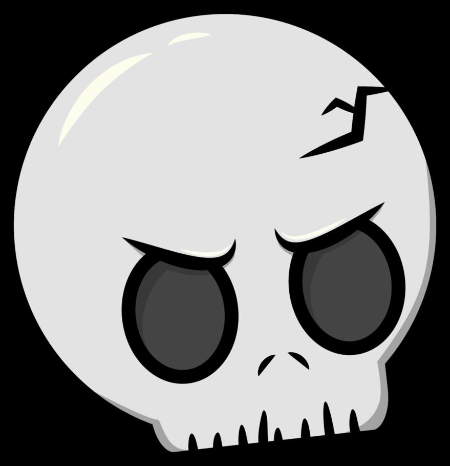 clip art black and white stock By panda on deviantart. Vector robot skull