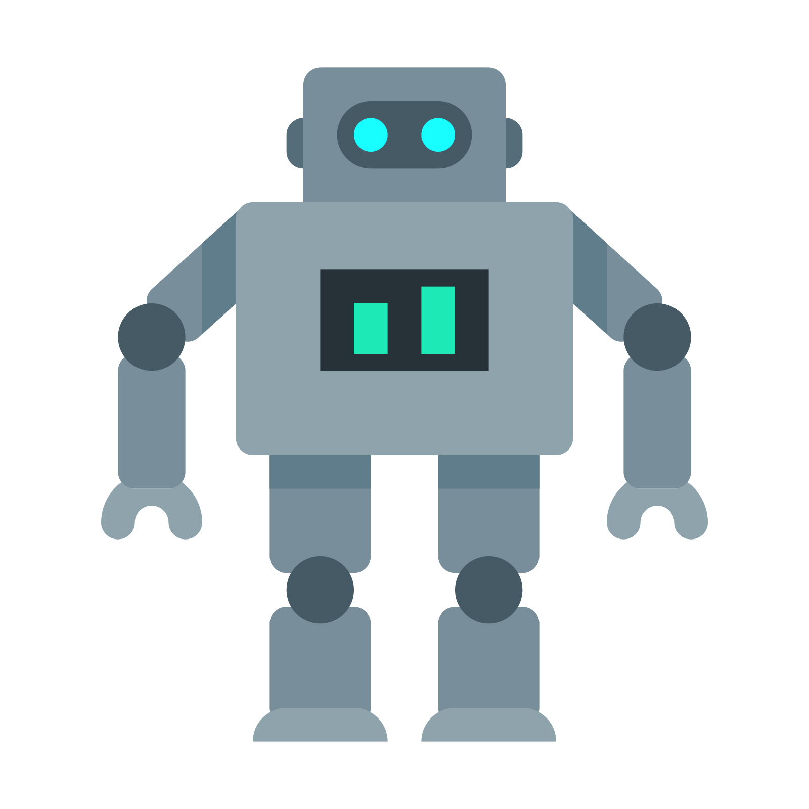 png free vector robot square #108363693