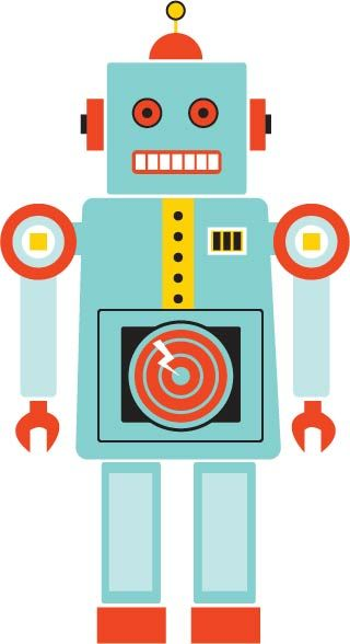 clip art royalty free download Tin Toy Robot by rhiled on deviantART