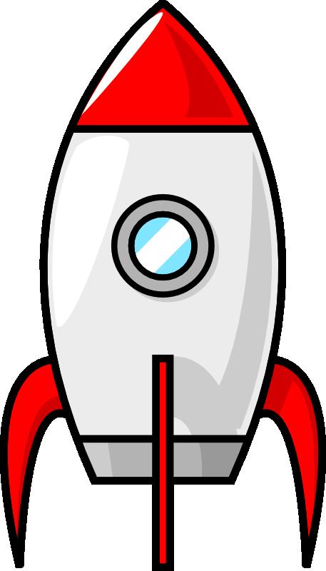 picture stock A cartoon moon rocket by purzen