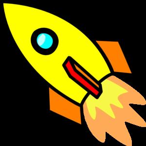 image stock Yellow Rocket Clip Art at Clker