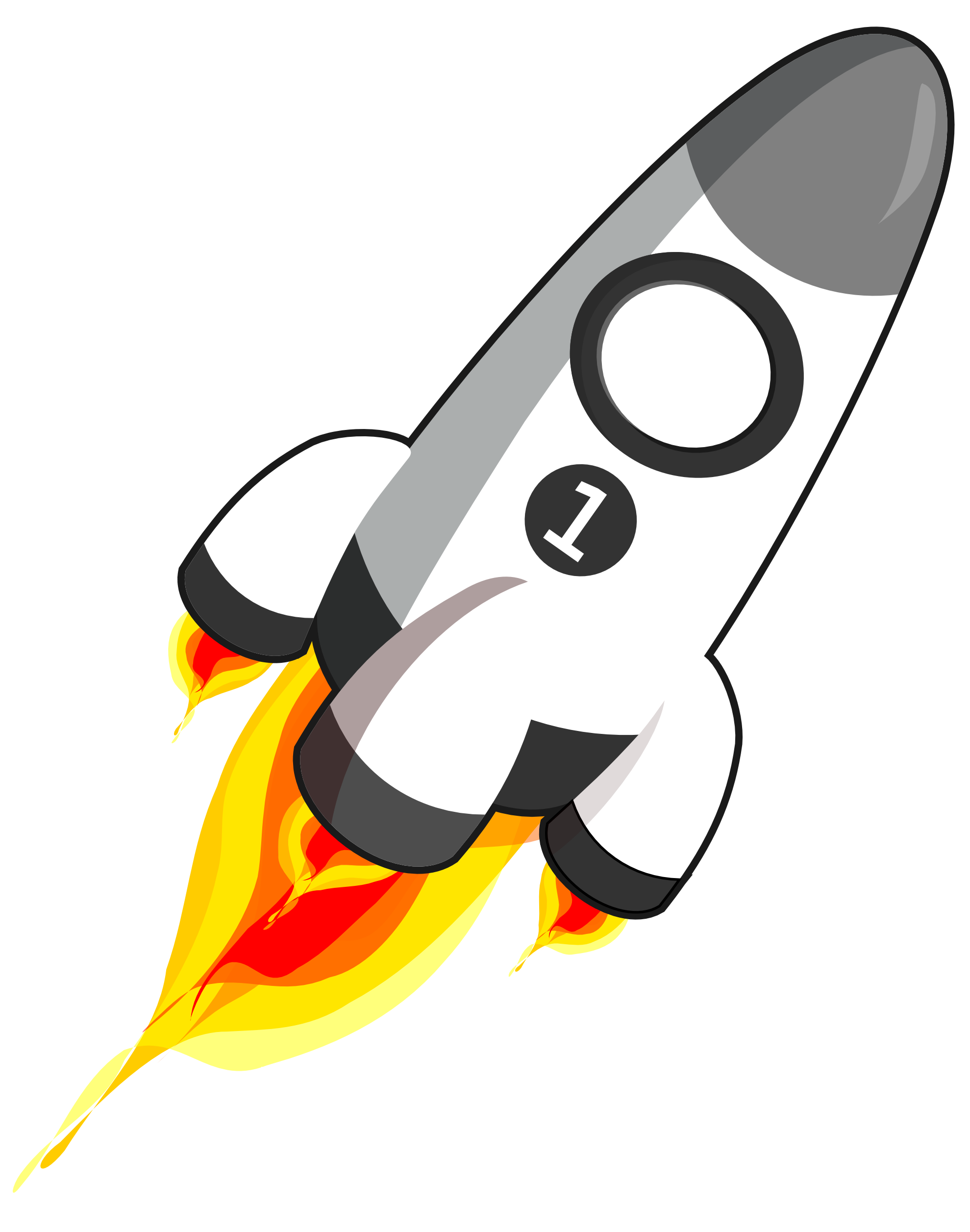 royalty free stock Vector rockets rocket clipart. Free picture of download