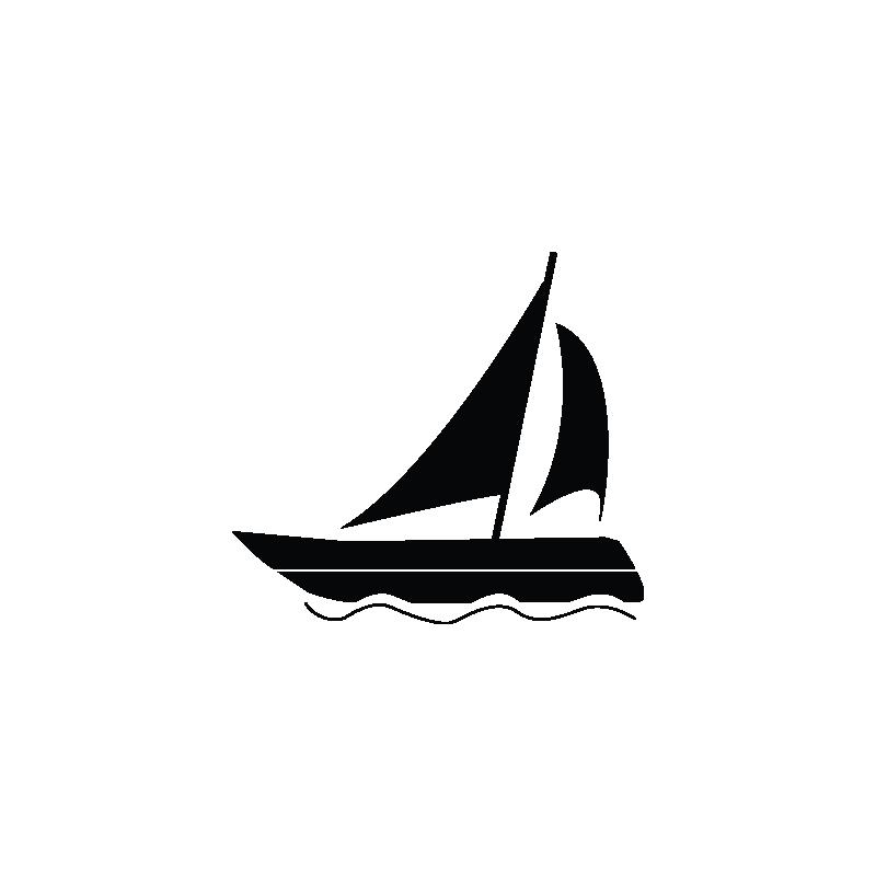 clip art royalty free stock Sail sailboat sailing ship. Vector boat motor