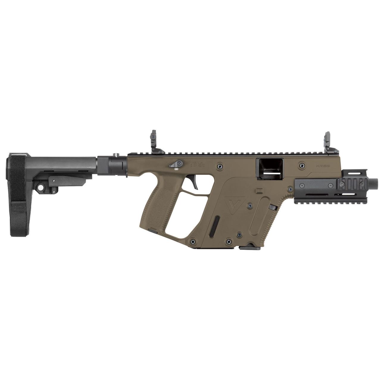 image black and white stock Kriss sdp sbxk mm. Vector 10mm gun price