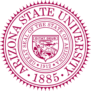png royalty free library Arizona state university logo. Vector seal