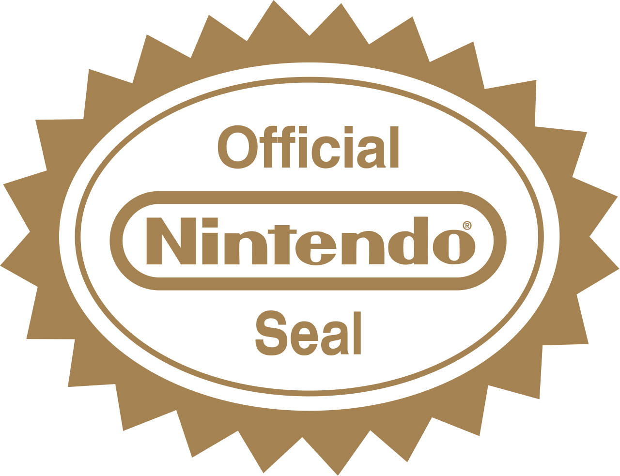 jpg black and white download Vector seal brand. File nintendo official svg