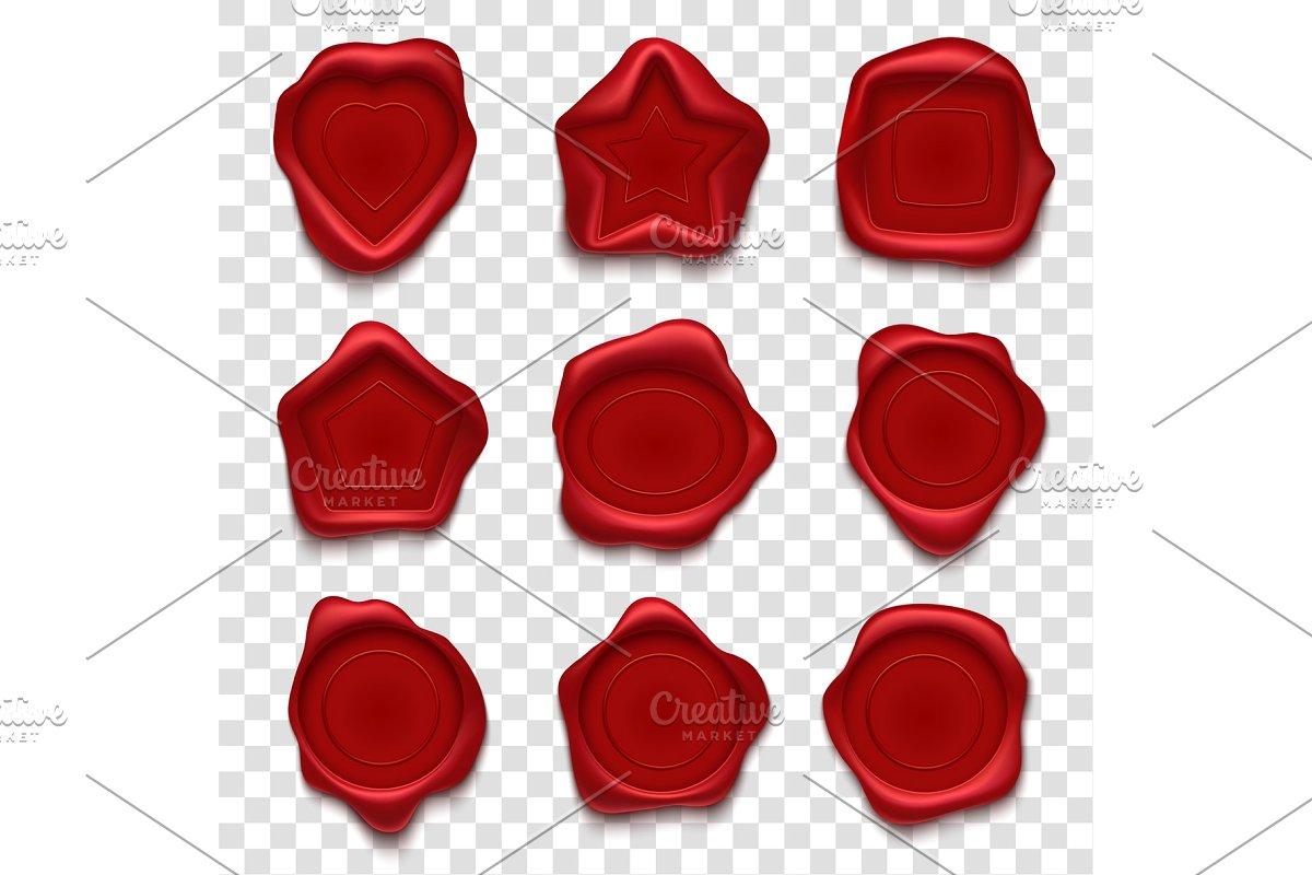 jpg free Vector seal creative. Wax vintage envelope post
