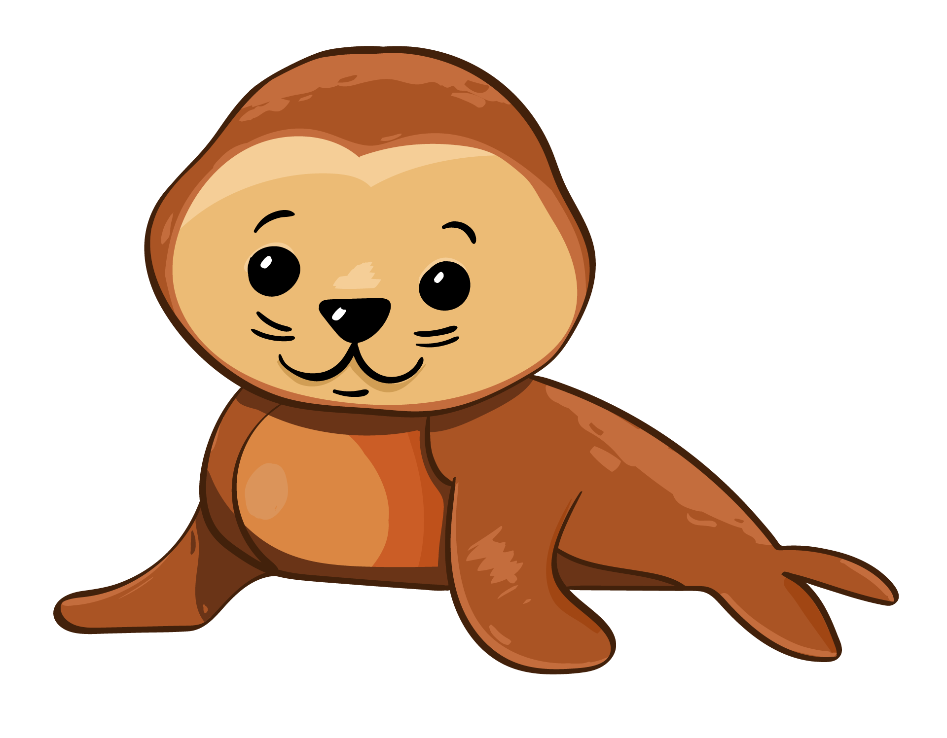 image library stock Seal graphics free stock. Vector baby cute