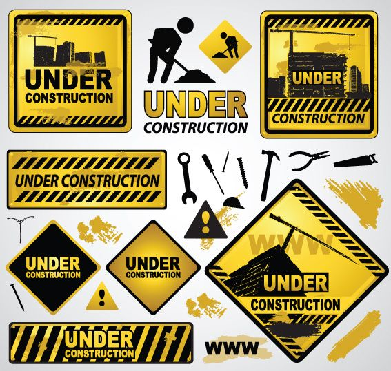 jpg black and white Vector signs.  best construction safety