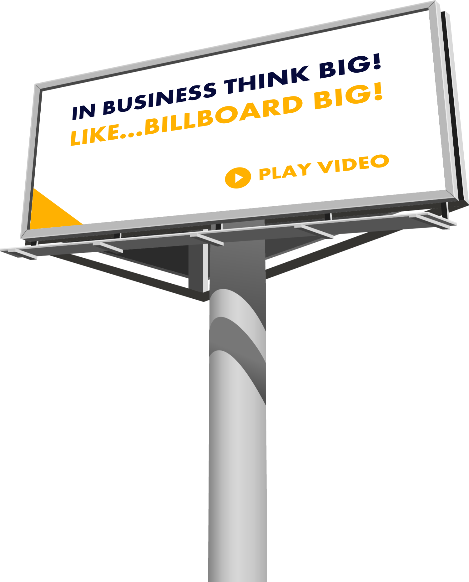 graphic library download Billboard vector street.  digital png for