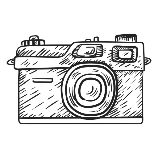 jpg Drawing photography sketch. Rangefinder camera transparent png